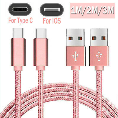 AU1 • Buy 1M/2M/3M USB Data Charger Charging Type-C IOS Cable Fit For IPhone 8 11 Pro Max