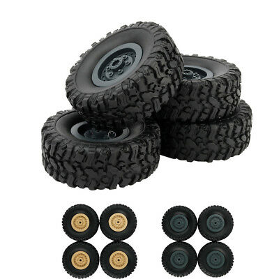 $7.39 • Buy 4pcs Track Wheels Spare Parts For 1/16 WPL B14 C24 FY001 Military Truck RC Car A