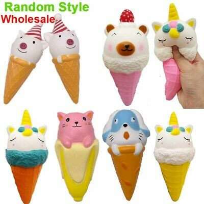 AU10.90 • Buy Slow Rising Ice Cream Squishies Food Squishy Toy For Girls Boys Kids Squeeze Toy