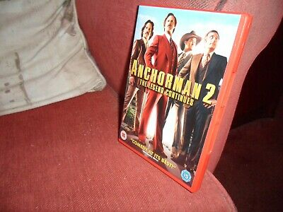 £0.99 • Buy Anchorman 2 - The Legend Continues ( Dvd )
