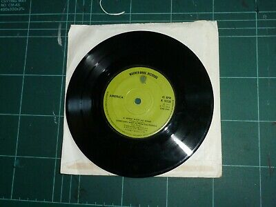 £0.99 • Buy America - A Horse With No Name/everyone I Meet Is From California. 7'' Single