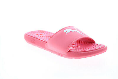 AU61.99 • Buy Puma Cool Cat Sport 37101616 Womens Pink Synthetic Slides Sandals Shoes 8