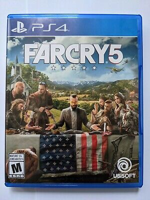 AU24.79 • Buy Far Cry 5 PlayStation 4 PS4 Great Condition Tested And Works