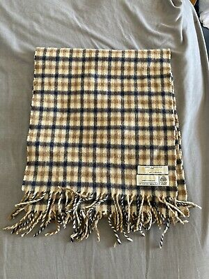 £36.95 • Buy Aquascutum Lambswool Check Scarf One Size Vintage