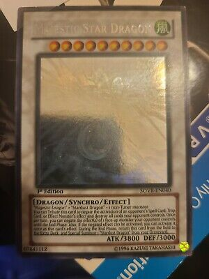 $480 • Buy Majestic Star Dragon Ghost Rare 1st Edition Moderate/Light Play