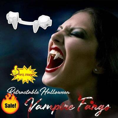 £3.06 • Buy Halloween Scary Party Cosplay Vampire Werewolf Teeth Dress Costume Silicone