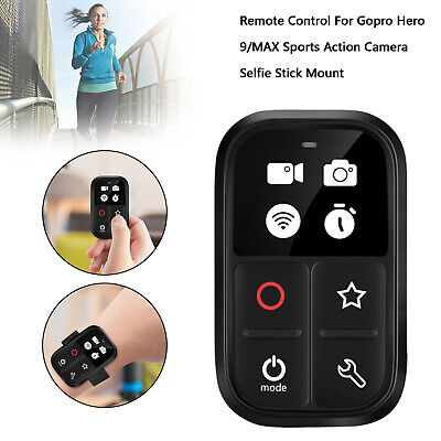 AU76.99 • Buy Remote Control For Gopro Hero 9/MAX Sports Action Camera Selfie Stick Mount