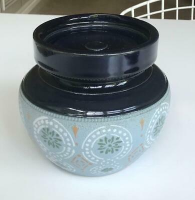 £7.99 • Buy Vintage Lovatts Langley Blue Tobacco Jar And Cover