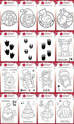 £4.25 • Buy Woodware Festive Fuzzies Clear Stamps - By Jane Gill - Creative Expression