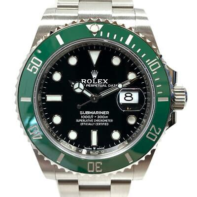 $ CDN38326.94 • Buy ROLEX Submariner Watch 126610LV Random Number Automatic Stainless Steel SS Used