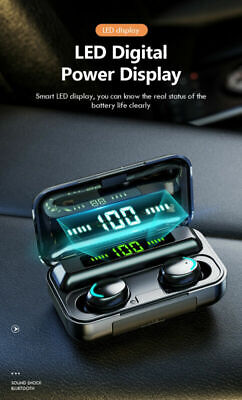 $ CDN25.88 • Buy Bluetooth Earbuds For Iphone Samsung Android Wireless Earphone IPX7 Waterproof