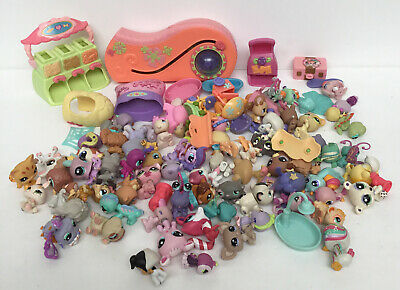 £19 • Buy Mixed Lot Of The Littlest Pet Shop Figures & Accessories Preowned (870D112)