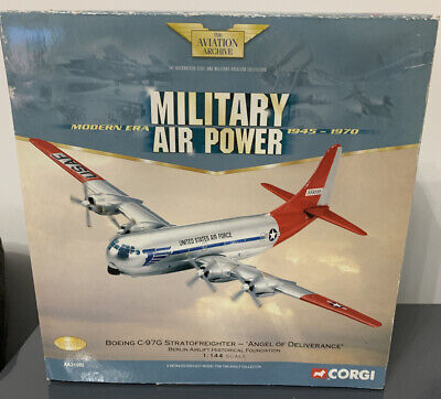 £28 • Buy Corgi Aa31002 Boeing C-97g Stratofreighter Angel Of Deliverance Berlin Airlift