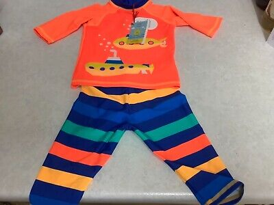 £7.95 • Buy BNWT -  Boots Mini Club Baby Boys UV Sun Safe Swimming Suit - Age 12-18 Months