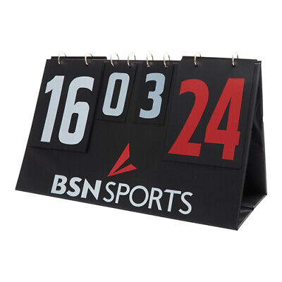 $84.48 • Buy Athletic Connection  Manual Tabletop Double Sided Scoreboard MSMLTSCR