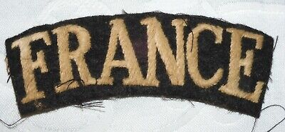 £3.19 • Buy Ww2 Free French France Shoulder Badge World War Ii Military Airborne Forces
