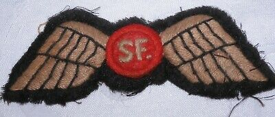 £4.20 • Buy Ww2 Soe Special Operations Executive Sf Jump Wings Badge World War Ii Patch