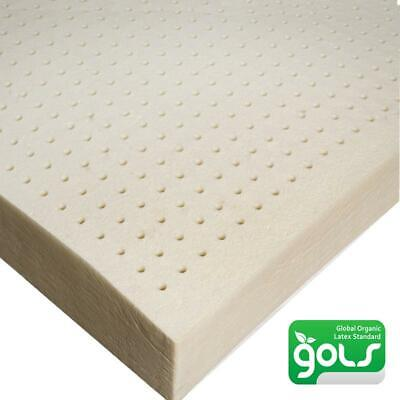 £109.96 • Buy Organic Latex Mattress Topper- Queen Size 2 Inch, For Soft Comfortable Sleep