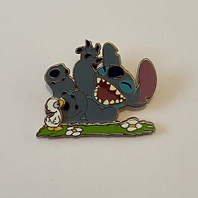 £7.50 • Buy DLP - Stitch And Duck - Today I Feel Happy - Disney Pin