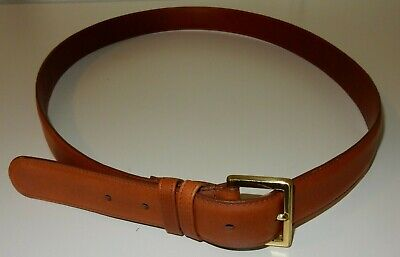 $59.95 • Buy Coach Brown Leather Belt Size 44