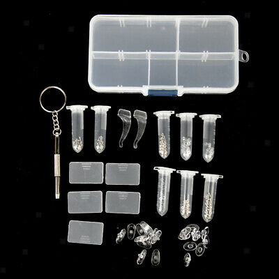 £4.10 • Buy Professional Glasses Repair Tool Set With Complete Spare Parts