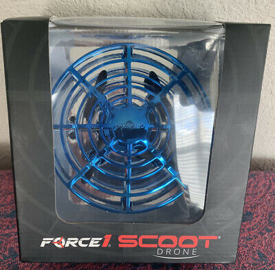 AU29.28 • Buy Force1 Scoot Hand Operated Drone For Kids Or Adults Blue New In Box