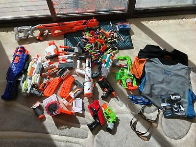 AU85 • Buy NERF GUNS All-in-one Collection - 10 Guns, Great Condition, With Ammo.