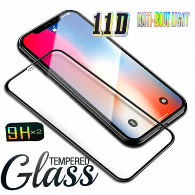AU7.55 • Buy 2x For IPhone 12 11 Pro Max XS Max XR  8 7 Plus Tempered Glass Screen Protector