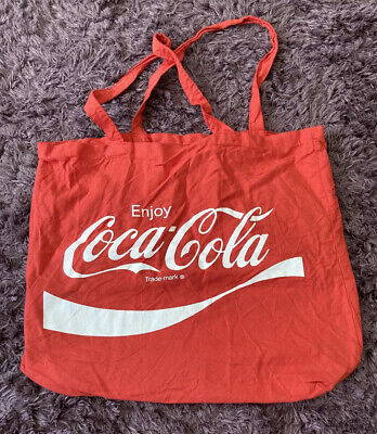£5.50 • Buy Coca Cola Primark Red Tote Bag Shopping Bag Official Merchandise
