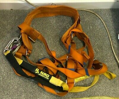 £49.50 • Buy Spanset EH766 Full Front & Rear Safety Body Harness Belt.3 Point & Scaffold Hook