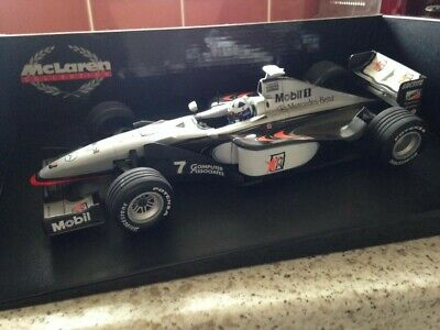 £30 • Buy Minichamps 1:18 Scale  Red Star  McLaren Mercedes MP4-13 David Coulthard 1998