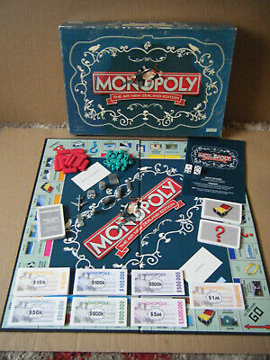 £29.99 • Buy Rare Monopoly  AIR NEW ZEALAND EDITION  Board Game. Parker/Hasbro 2007. Complete