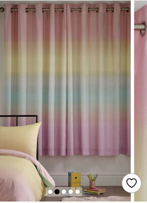 £40 • Buy Rainbow Curtains Brand New 117cm By 183cm 46 Inches By 72 Inches