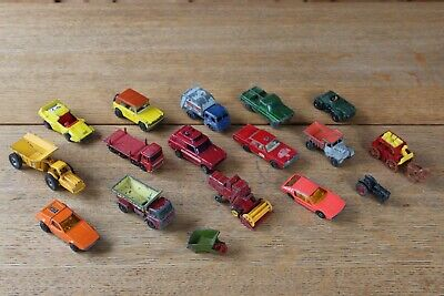 £19.95 • Buy Collection Of Vintage Matchbox Inc Superfast And Corgi Model Cars Lorrys Jeep