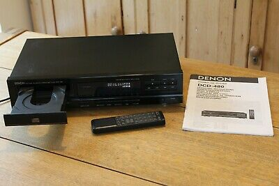 £49.95 • Buy Denon Stereo Cd Player Dcd - 480 Excellent Working Order + Instructions + Remote