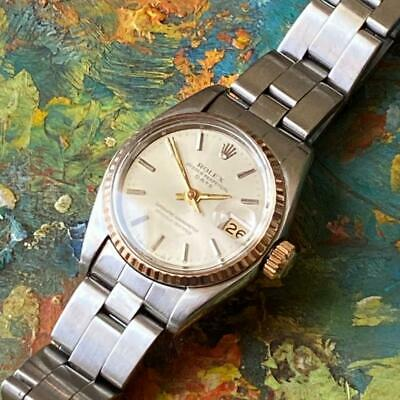 $ CDN868.61 • Buy Rolex Date 6516 Two-tone Ladies Vintage Watch 100% Genuine 25mm Oyster Band