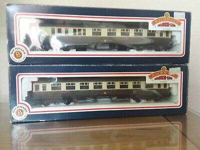 £29 • Buy Two Bachmann Coaches Collett Great Western 1x 34-100A & 1x34-075A