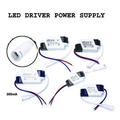 £2.29 • Buy LED Driver Adapter AC85-265V To DC Transformer Panel Power Supply LED Strip