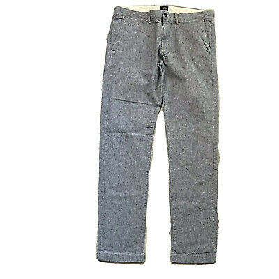$ CDN30.20 • Buy J. CREW 484 Slim Men's 34x34 Brushed Cotton Chino Pants Fit Excellent Condition