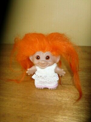 £14.50 • Buy Vintage Dam Troll Circa 1970's With Original Clothing Made In Denmark Glass Eyes