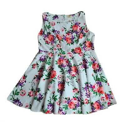 £26.61 • Buy Grace Karin Women's Plus 50'S Style Pin Up Floral Sundress Size 4X NWT