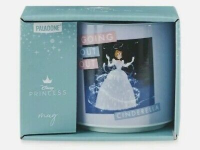 """£7.87 • Buy Disney Princess Cinderella """"Going Out Out"""" Mug Ceramic Tea Coffee Cup Boxed 💌📦"""