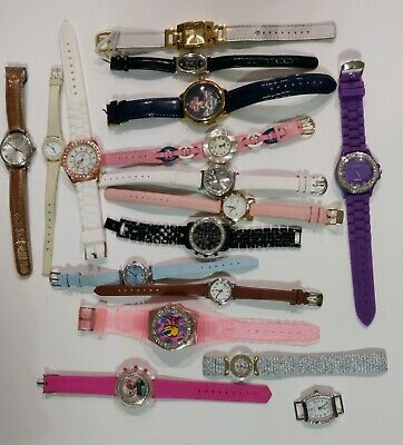 $ CDN11.32 • Buy LOT OF 17 VINTAGE TO NOW  WATCHES { Geneva, Casio)mixed Lot UNTESTED