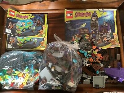 £29.99 • Buy Collection Of Scooby Doo LEGO - Mystery Mansion 75904 & Mystery Machine 75902