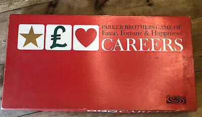 £5 • Buy CAREERS Vintage 1960s Parker Brothers Board Game Of Fame Fortune & Happiness