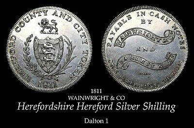 £3.75 • Buy 1811 Herefordshire Hereford Silver Shilling D1, Brilliant