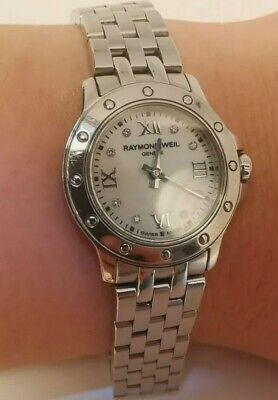 £275 • Buy Raymond Weil Tango 5799  Diamond Dial Ladies Watch With Box&papers