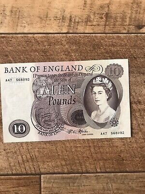 £17 • Buy Old £10 Ten Pound Note A47 568092. Fforde. Excellent Condition