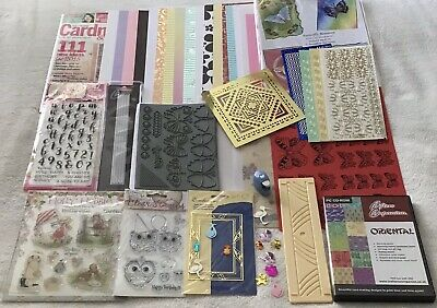 £7 • Buy Craft Room Clear Out Card Making Bundle Mostly New