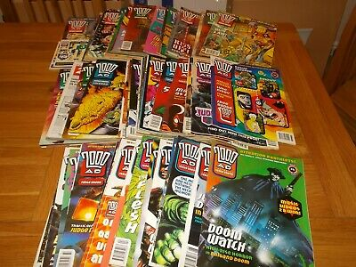 £30 • Buy 97 X 2000AD Comic Prog Collection 800-899   With Free Gifts